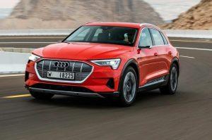 Один из дилерских автоцентров представил новый тест-драйв электромобиля Audi e-tron